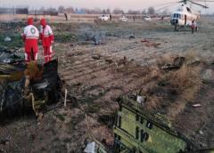 Más de 170 muertos en accidente de avión ucraniano en Teherán