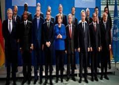 La conferencia de Berlín busca una complicada paz en Libia