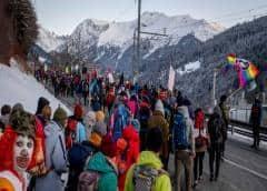 La gran contradicción del Foro Davos 2020: hay preocupación climática, pero casi todos viajan en avión privado