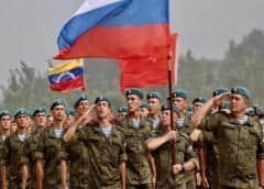 Militares rusos se instalan en frontera de Venezuela con Colombia