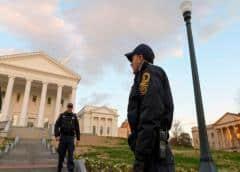 Virginia: En alerta a la espera de que activistas a favor de las armas se reúnan en Richmond