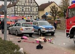 Conductor embiste a multitud en desfile de carnaval en Alemania, al menos 30 heridos