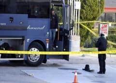 Un muerto y cinco heridos en un tiroteo registrado en un autobús en California