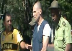Tribunal donde enjuician a Ferrer acordonado por fuerzas policiales