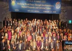 Cubanos asisten a cumbre de Paz en Corea del Sur