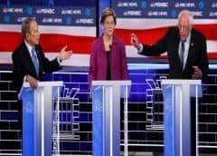 Bloomberg es blanco de críticas en debate presidencial demócrata