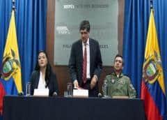 Ecuador dice que cumplirá los protocolos para no arriesgar a millones de personas