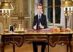 """Macron contra el """"Islam político"""", en plena campaña electoral"""