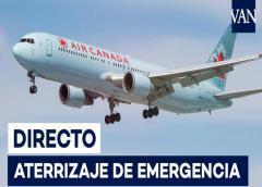 Vídeo del aterrizaje del avión de Air Canada en Madrid – Barajas
