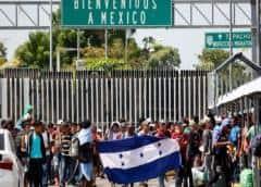 México anuncia reducción del 74,5% de flujo migratorio irregular hacia EEUU