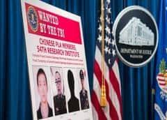 """Cuatro militares chinos roban los datos personales de 150 millones de estadounidenses: """"Fue notablemente descarado"""""""