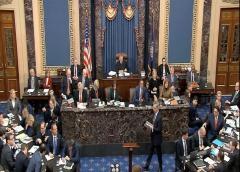Absolución en el Senado espera a Trump en su juicio político