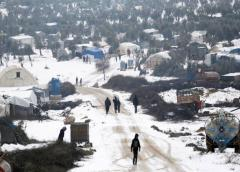 El frío agrava la crisis de los desplazados en Siria