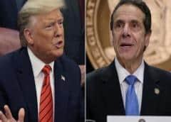 """Trump y el gobernador de Nueva York se verán la cara por el """"Global Entry"""""""