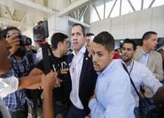 """Guaidó a su regreso: """"Estamos más unidos que nunca"""""""