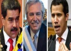 "Guaidó emplaza a Argentina a ayudar acogiendo a Maduro a ""como recibieron a Evo Morales"""