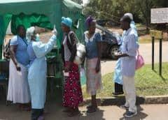 Casos de COVID-19 en África superan los 1.100