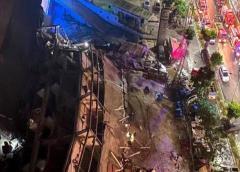 China confirma 10 muertos en derrumbe de hotel