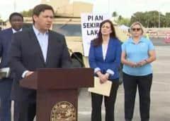 DeSantis ordenará al sureste de Florida quedarse en casa 'hasta mediados de mayo'