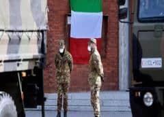 Italia distribuye bonos alimentarios y teme saqueos de supermercados