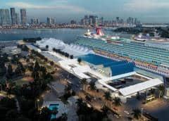 Dos barcos de Costa Cruise tienen planeado atracar en PortMiami el jueves con 30 enfermos a bordo