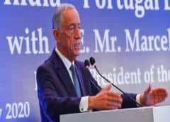 El presidente de Portugal, en aislamiento voluntario por el coronavirus