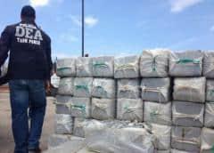 Fuerzas de seguridad se incautan 161 libras de cocaína en aeropuerto San Juan