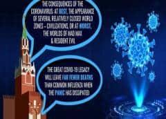 Rusia alimenta desinformación sobre coronavirus para mostrar pánico en Occidente: documento UE