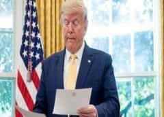 """Trump promete """"importantes"""" medidas económicas ante el avance del coronavirus en EEUU"""