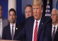 Trump: EE.UU. y México acuerdan restringir los viajes no esenciales en la frontera sur