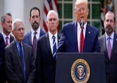 """Trump sobre la pandemia: """"No es un acto de Dios"""""""
