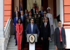Maduro pone en cuarentena a Caracas y 6 estados