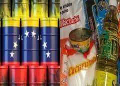 Empresa mexicana toma petróleo venezolano por intercambio de alimentos