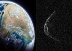 El asteroide del 29 de abril se acerca a la Tierra con mascarilla