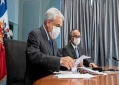 """Chile supera los 7.200 casos y Piñera habla de una """"guerra mundial"""" por los ventiladores"""