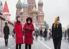 Rusia supera los 1.000 muertos y registra más de 100.000 casos de nuevo coronavirus