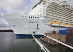 Empleado de barco Oasis of the Seas, de Royal Caribbean, muere en hospital de Broward