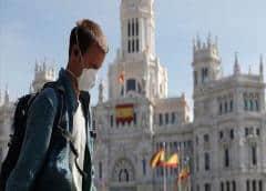 Repunta cifra de muertos por COVID-19 en España