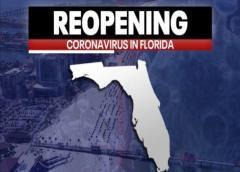 Florida registra 1,268 muertos por COVID-19. El sur del estado tiene más de 20,000 casos