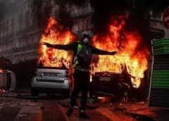 Trece detenidos tras una nueva noche de disturbios en la periferia de París