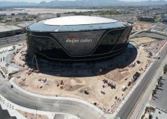Las Vegas:Ya son 7 los casos confirmados en la construcción del estadio Allegiant