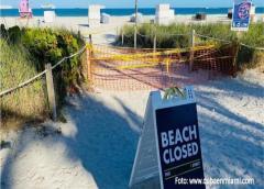 Alcalde de Miami Beach asegura que el acceso a la playa estará prohibido hasta junio