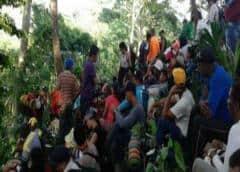 Migrantes que iban a EEUU, varados en la selva panameña, donde también llegó la COVID-19