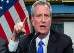 Alcalde de NY pide movilización nacional de personal médico