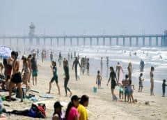 El desconfinamiento en EEUU llena las playas de algunos estados