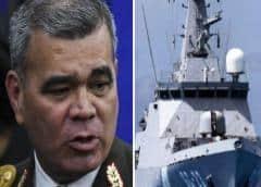 Régimen de Maduro denuncia que buque portugués embistió una nave de su armada