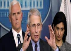 La Casa Blanca desmantelará a su consejo de expertos de la COVID-19