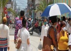 Cuba: En Las Tunas, un hervidero de transeúntes y colas en plena pandemia
