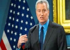 Alcalde Nueva York: urge aprobación de paquete de ayuda