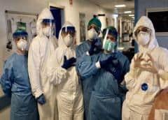 Más de 90.000 trabajadores de la salud están infectados con COVID-19 en el mundo